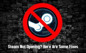 Steam not Opening? Here are some Common Fixes