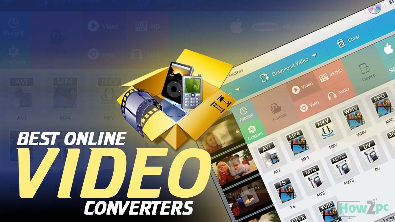 5 Best Free Online Video Converter for 2018 | How2pc
