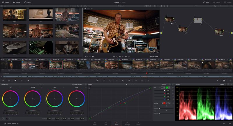 DaVinci Resolve video editing software free