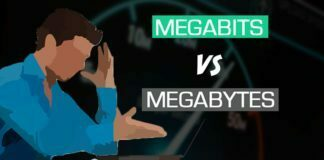 Megabits vs. Megabytes