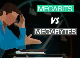 Megabits vs. Megabytes