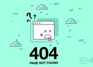 Error 404 not found