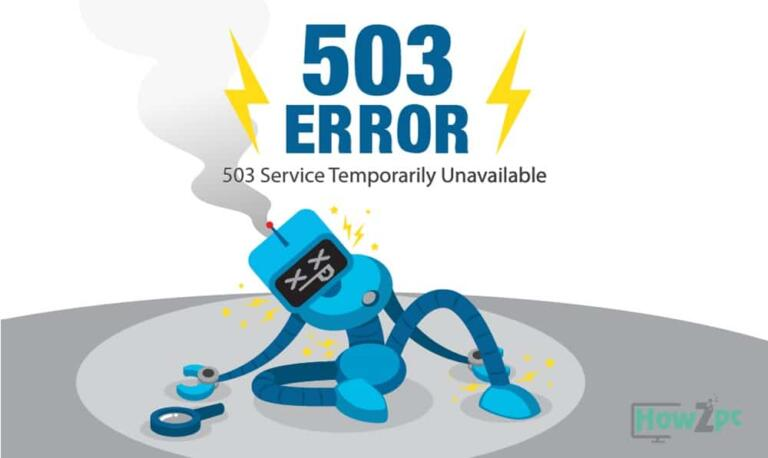 What is 503 Service Unavailable Error?