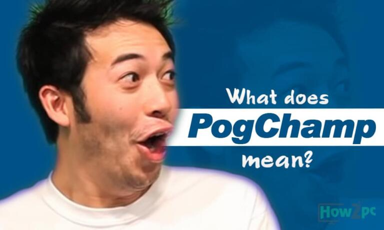 What Does PogChamp Mean?