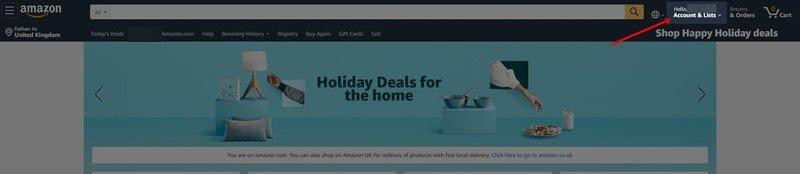 How to Check Amazon Gift Card Balance on desktop 1