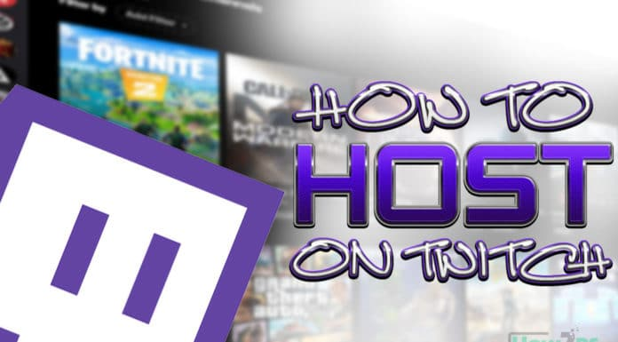 How to Host on Twitch