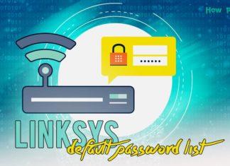 Linksys Default Password List