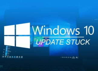 Windows 10 Update Stuck