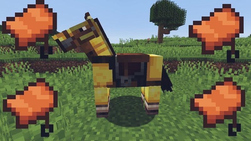 Saddle in Minecraft