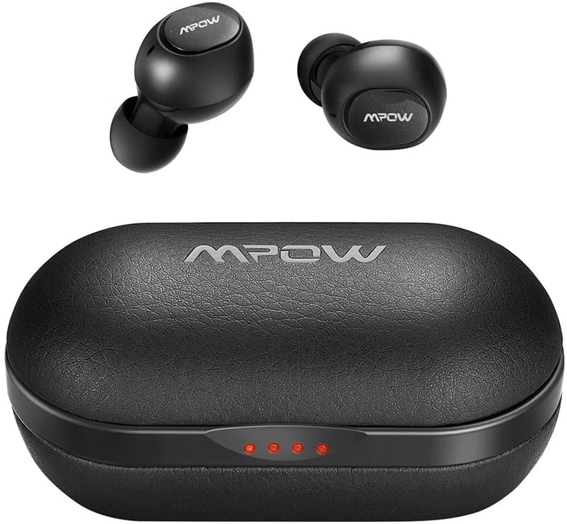 Mpow M5/T5 - Best Bass Heavy Wireless Earbuds Under $50