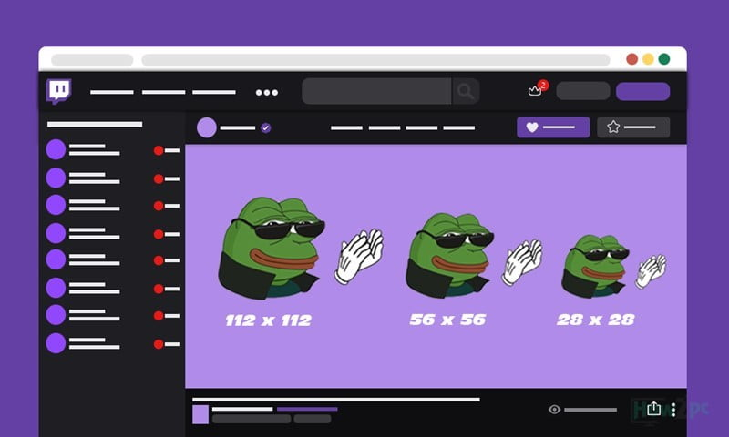 Twitch Emote Size