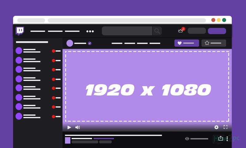 Twitch Offline Banner Size