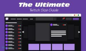 The Complete Twitch Graphics Size Guide for 2021