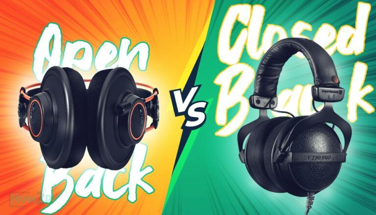 Open Back vs Closed Back Headphones: The Good and The Bad