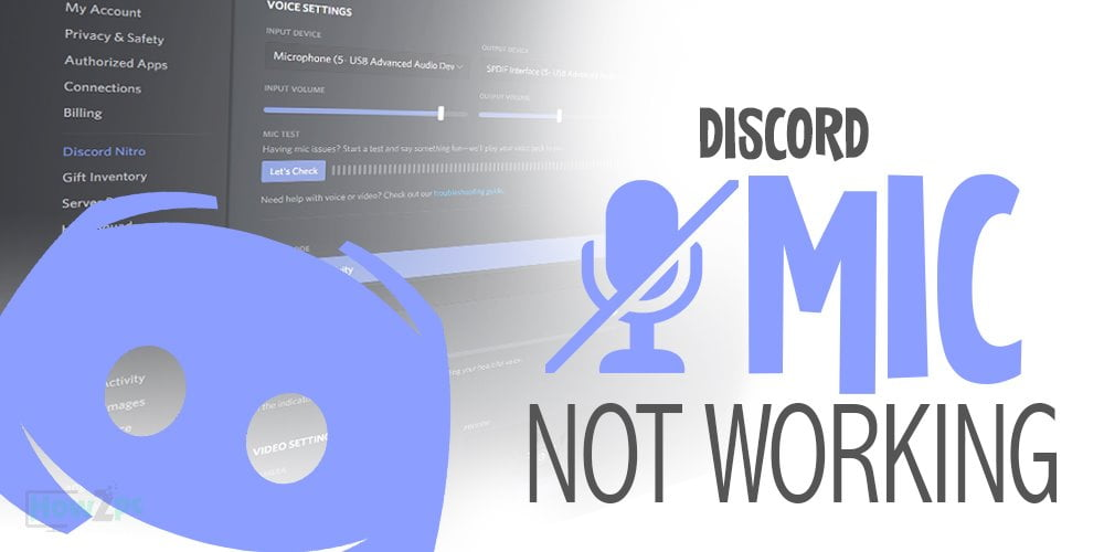 Headset Not Working on Discord