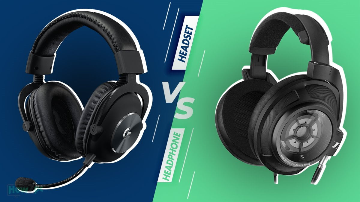 Headset vs Headphones