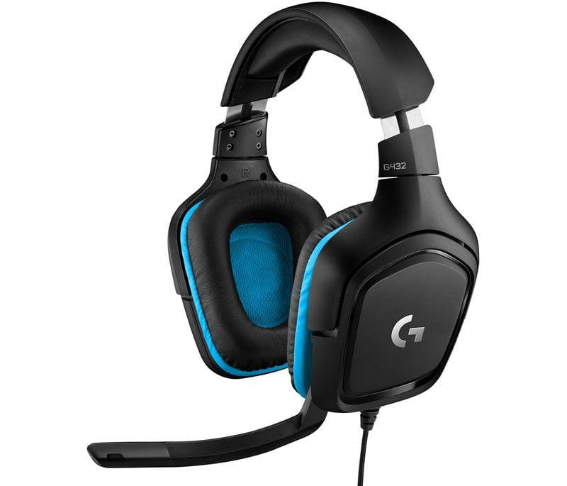 Logitech G432 - Best PC Headset Under 50