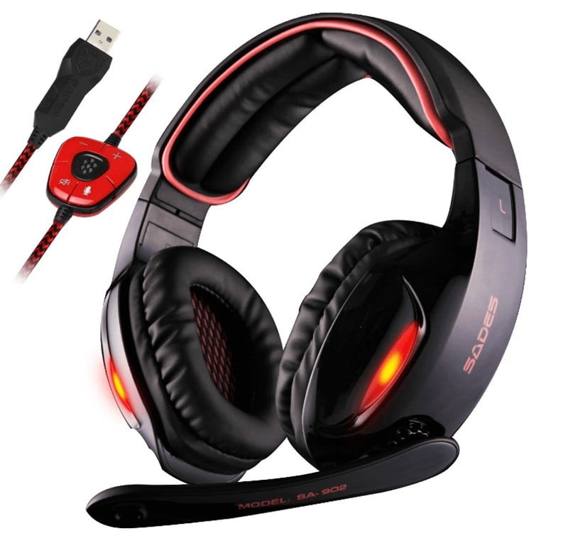Sades SA902 - Best Cheap Gaming Headset