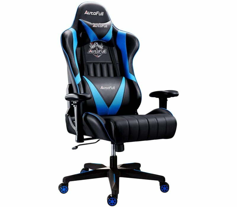 AutoFull Computer Gaming Chair - Premium Gaming Chair Under $200