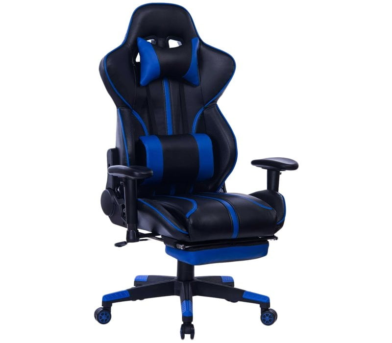 Blue Whale BW8239 Gaming Chair - Best Massage Gaming Chair Under $200