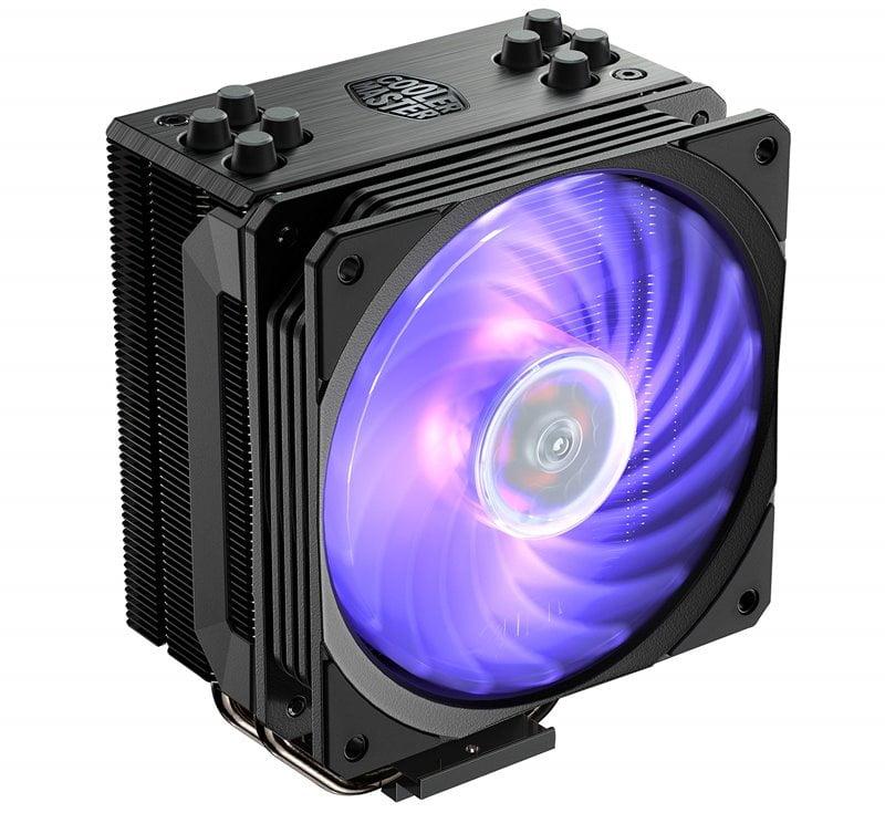 Cooler Master Hyper 212 RGB Black Edition - Best Air Cooler for Ryzen 3 CPUs