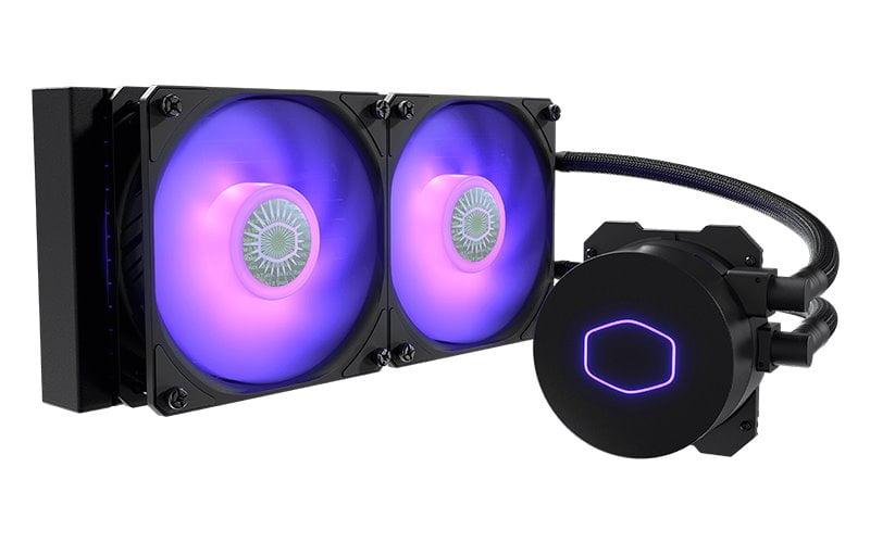 Cooler Master MasterLiquid ML240L v2 RGB - Best Liquid Cooler for Ryzen 5