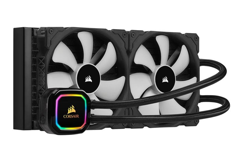 Corsair iCUE H100i RGB Pro XT - Best Liquid Cooler for Ryzen 7