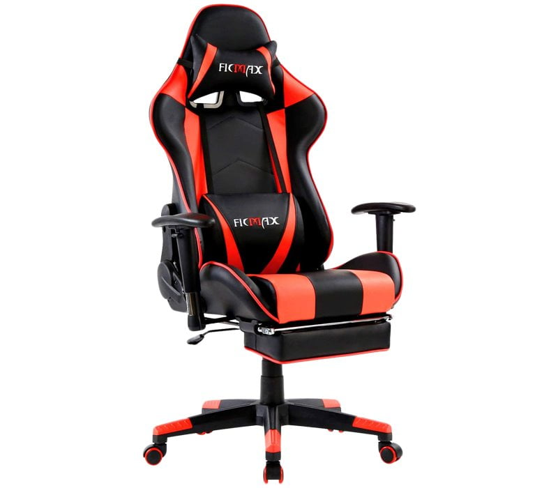 Ficmax Gaming Chair SFX Series - Best Gaming Chair with Footrest Under $200