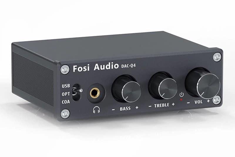Fosi Audio Q4 - Best Budget DAC Amp Combo