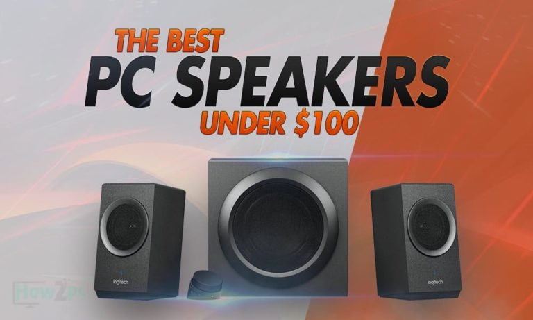 The 16 Best PC Speakers Under $100 in 2021