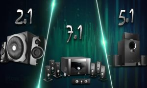 2.1 vs 5.1 vs 7.1 Surround Sound Speakers: How are They Different?