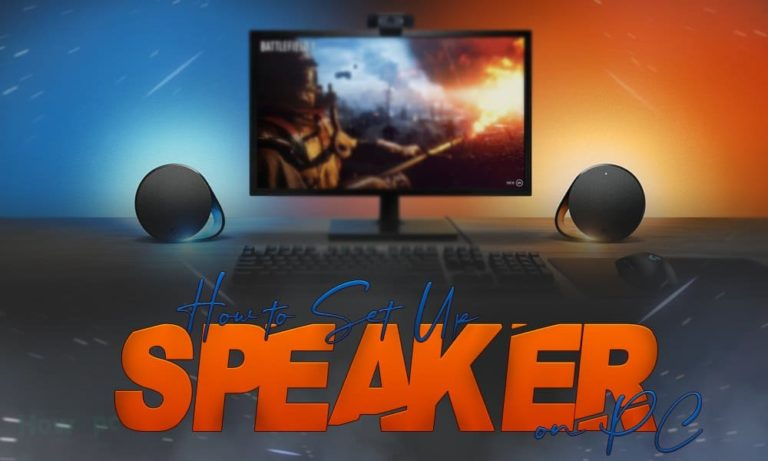 How to Set Up Speakers on PC
