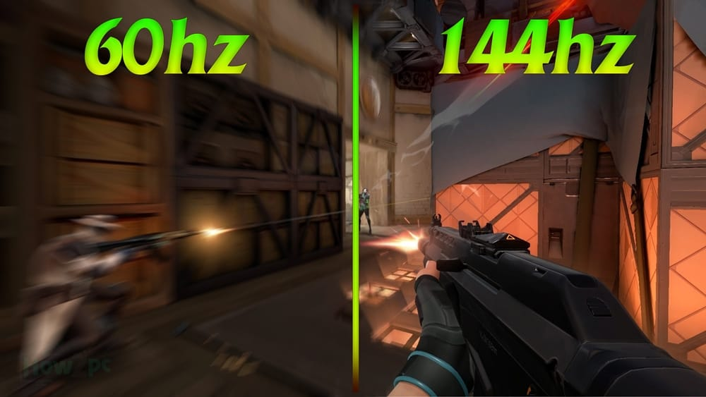 60hz vs 144hz gaming monitors-Best Refresh Rate for Gaming