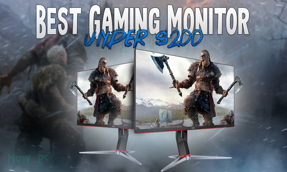 Best 144hz Monitor Under 200 for gaming