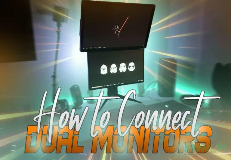 How to Connect Dual Monitors