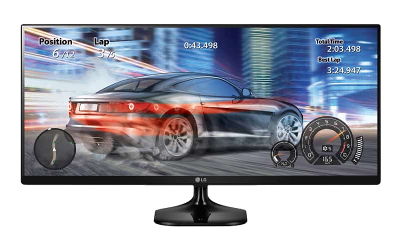 LG 25UM58-P Review - The Best Ultrawide Gaming Monitor Under $200