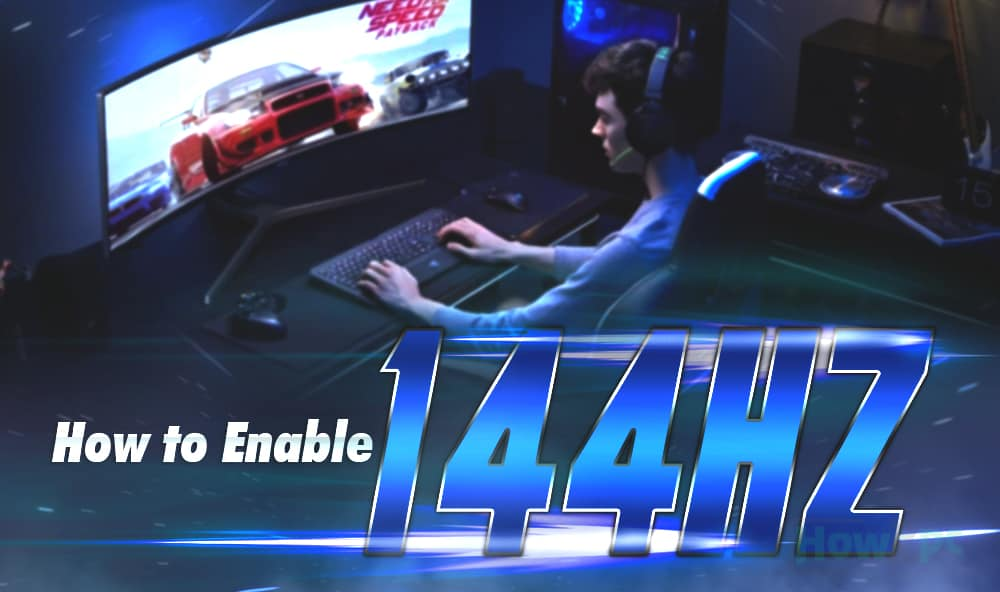 How to Enable 144hz