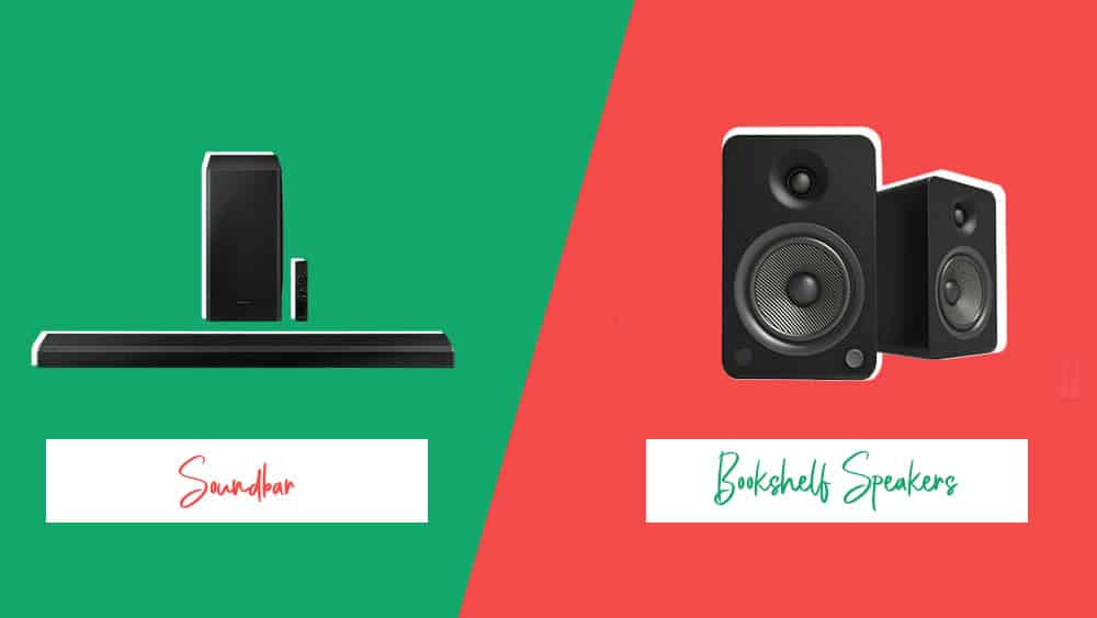 Soundbar vs Bookshelf Speakers