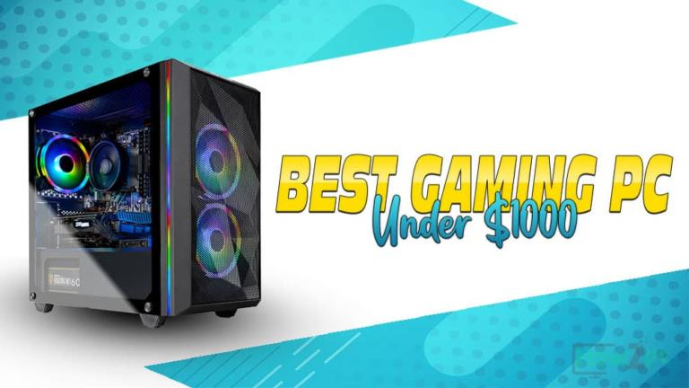 Best Prebuilt Gaming PCs Under $1000 in 2021 – Ultimate Buying Guide