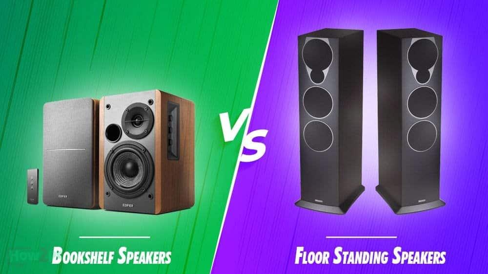 Bookshelf vs Floorstanding Speakers