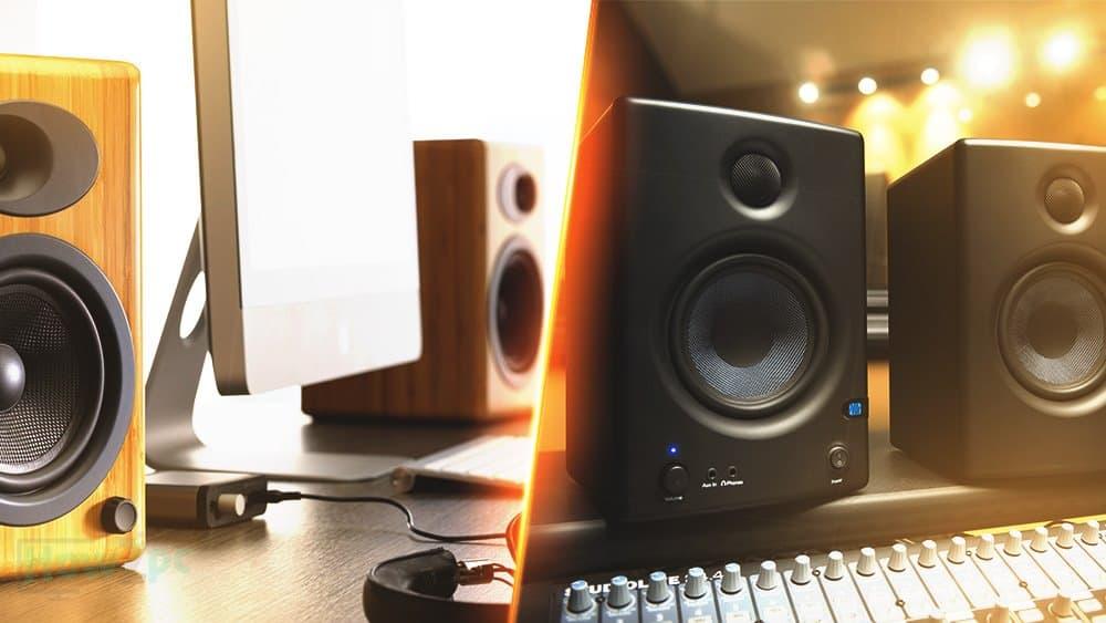 bookshelf speakers vs studio monitors
