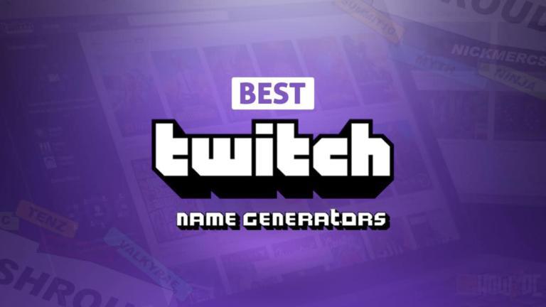 Best Twitch Name Generators in 2021